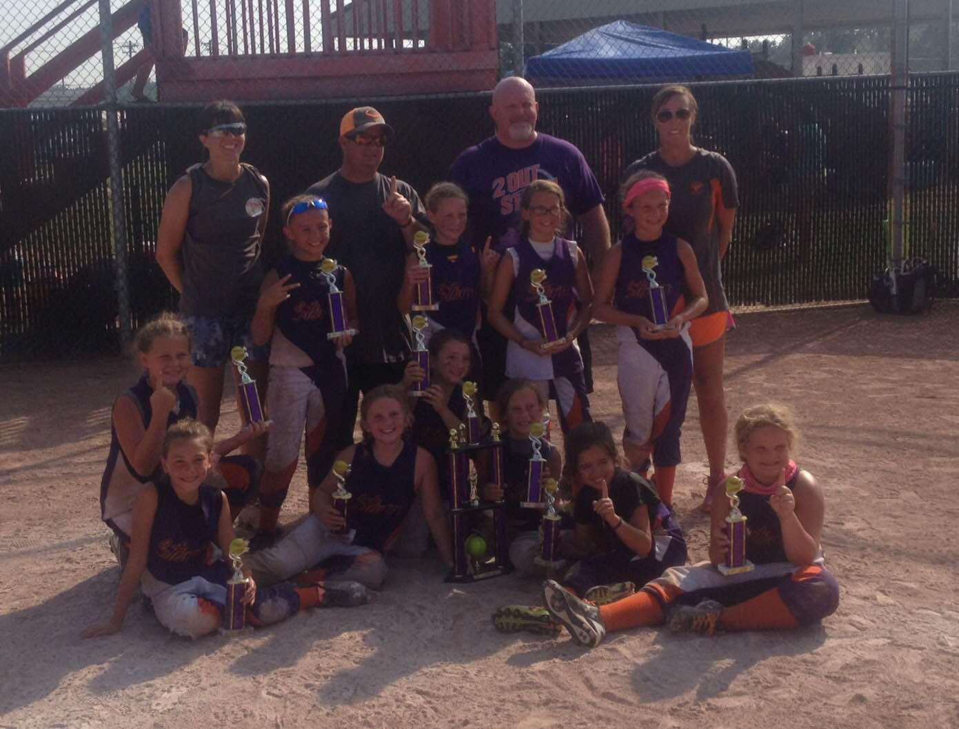 8u Bring On The Heat Tournament Champions - Edinburgh IN