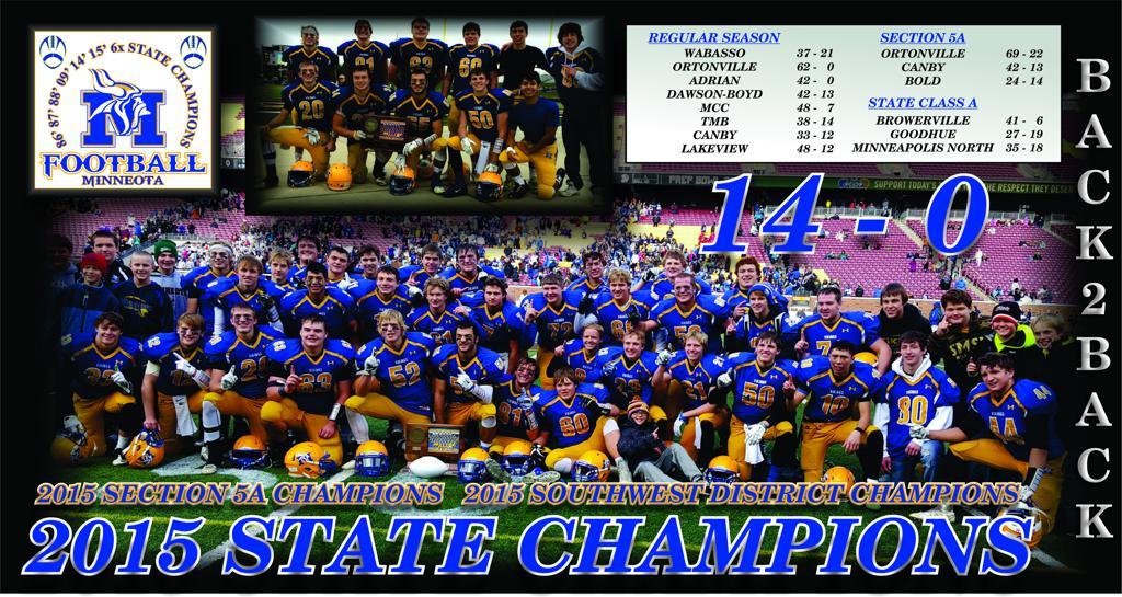 2015 State Champions