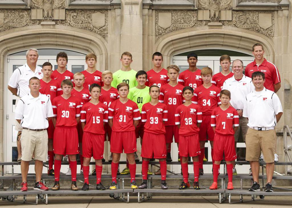 PHS 2016 JV Boys Team