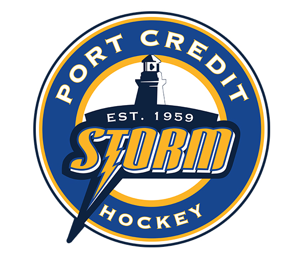 Port Credit Hockey Association Logo - Port Credit Storm News. Mississauga Hockey League News - Mississauga Hockey League and Mississauga Hockey Schools