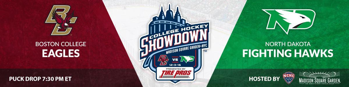 College Hockey Showdown at MSG