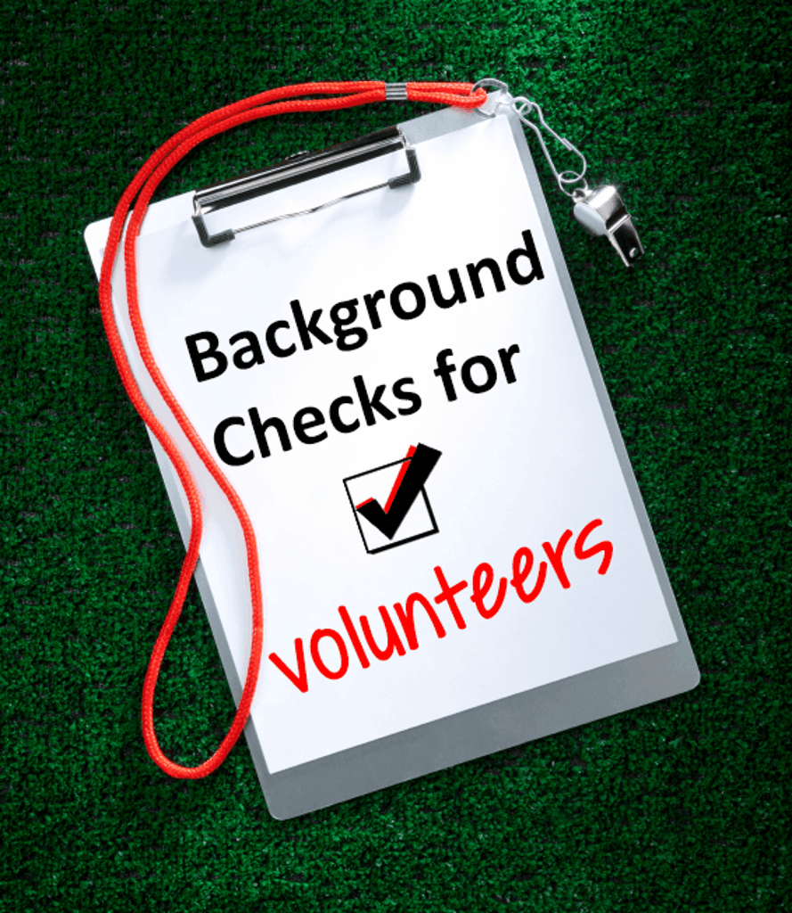 Background Check for Volunteer-Pic
