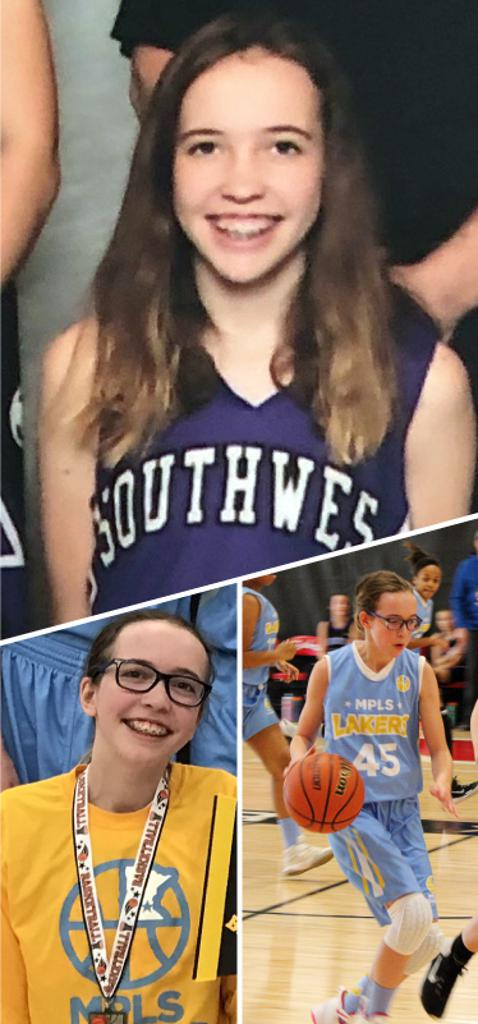 Kaia Ludtke Southwest Lakers Class of 2022  Mpls Lakers 2015-2018