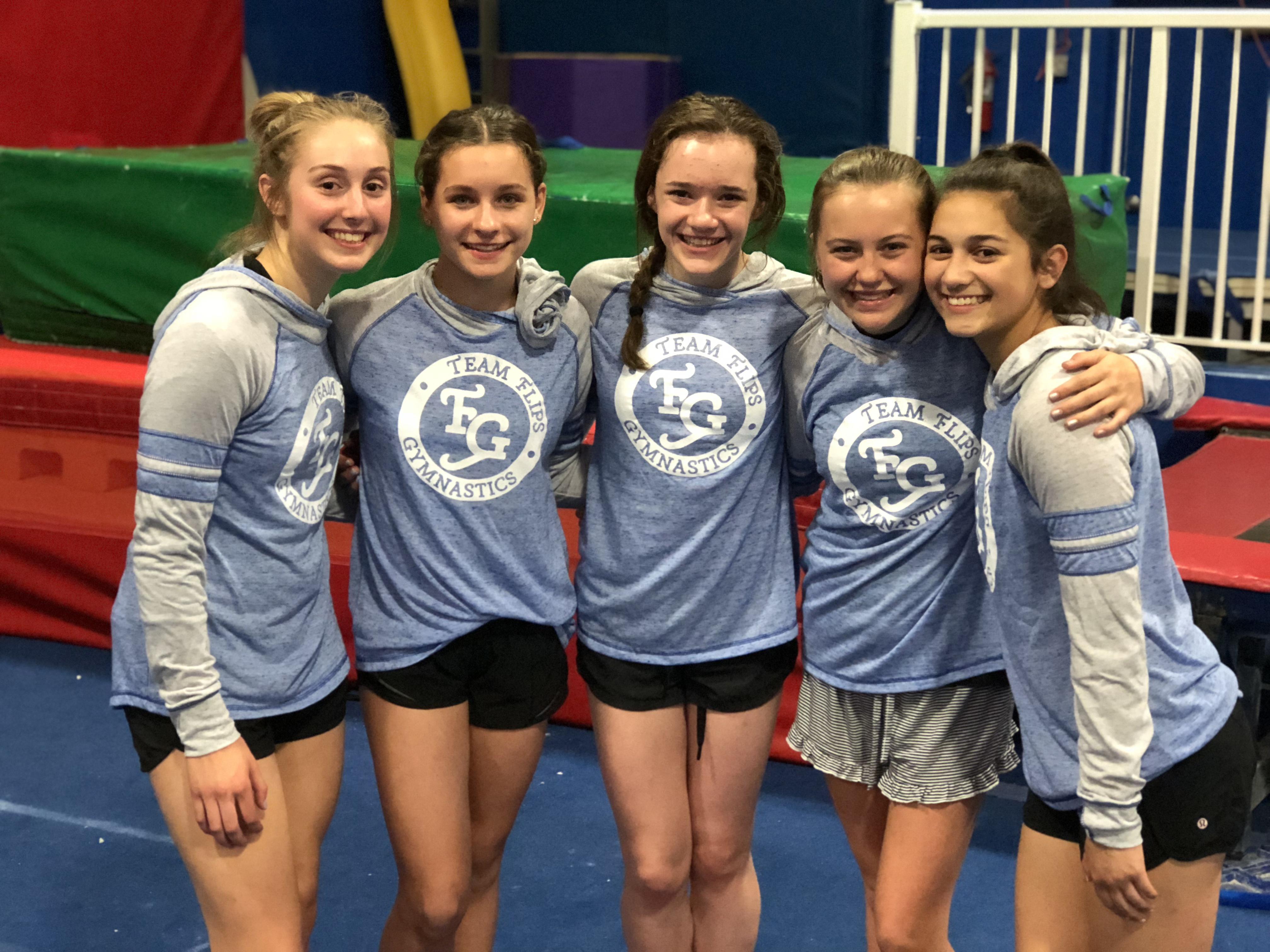 Emma Flips Gymnastics Friends