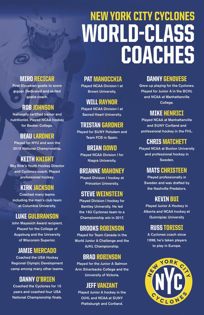 NYC Cyclones World Class Coaches