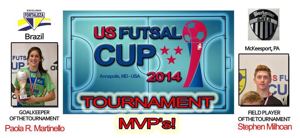 US Futsal Cup 2014 MVPs