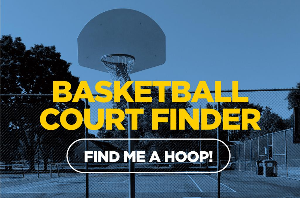 The original basketball court finder, find me a hoop. Hoop at over 30,000 courts worldwide! Simply use our CourtFinder, a unique world map full of basketball courts. Look for a basketball site by city or just discover basketball courts as you browse the g