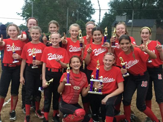 12u Fillies- Roselle Fall Tourney Champs!!