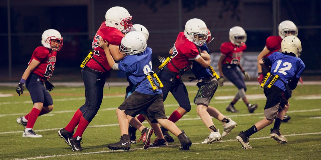 TackleBar football game