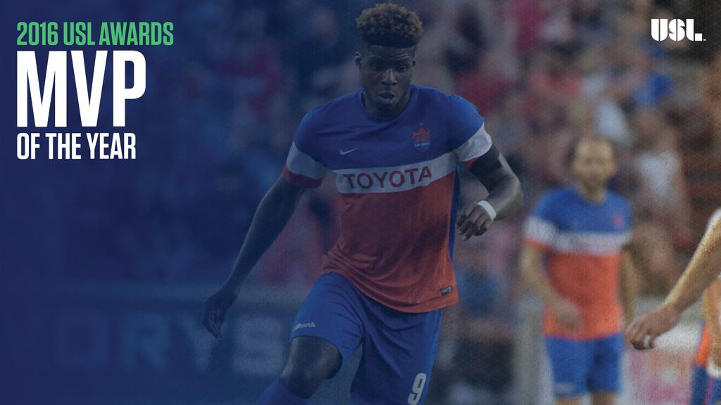 18453f2fe Cincinnati's Okoli Named USL Most Valuable Player