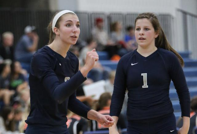 Prep Volleyball Hawks Stay Undefeated With Road Win Over Greyhounds