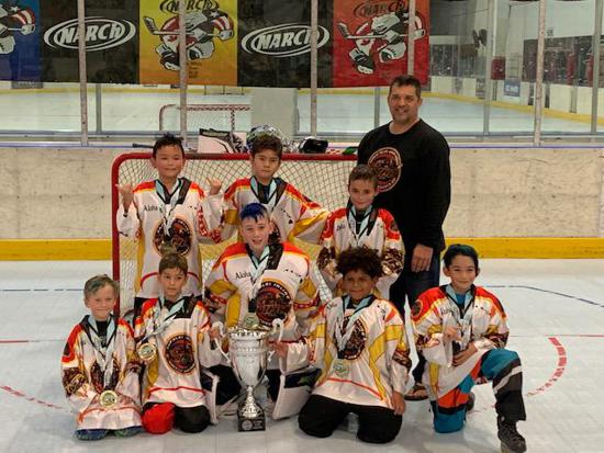 8u Team photo  Narch Winternationals 2020