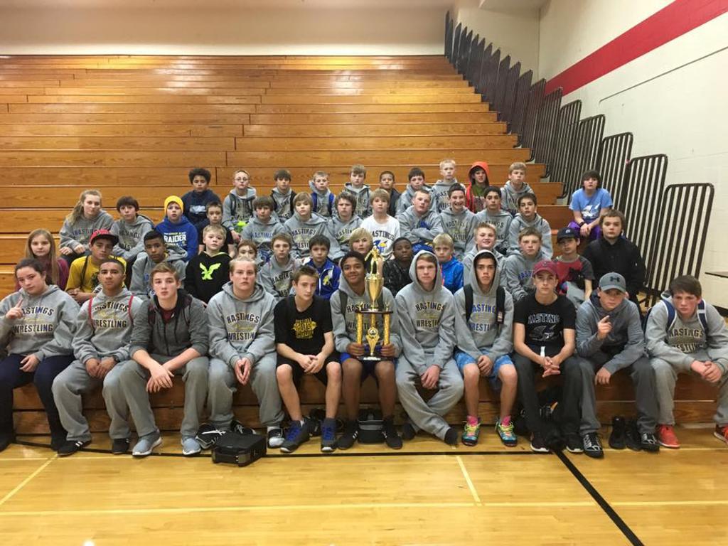 Hastings Middle School Wrestling