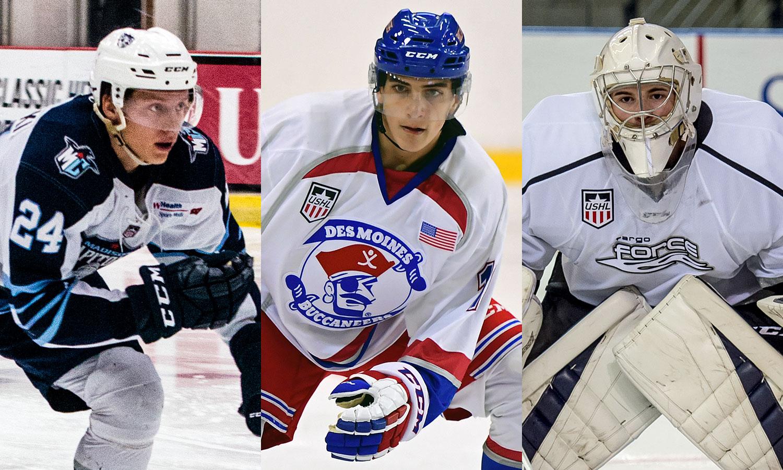 USHL: League Announced The CCM Forward, Defenseman And Goaltender Of The Week For Week 9 Of The 2016-17 Season