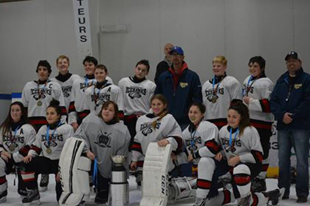Scotiabank Icehawks White