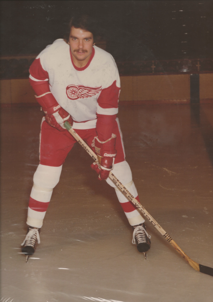 Drafted and Played For the Detroit Red Wings