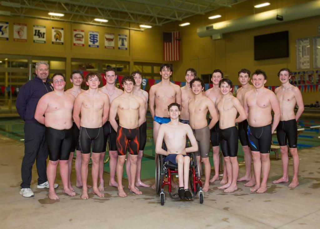 CDH 2020-21 Boys Swim & Dive Team
