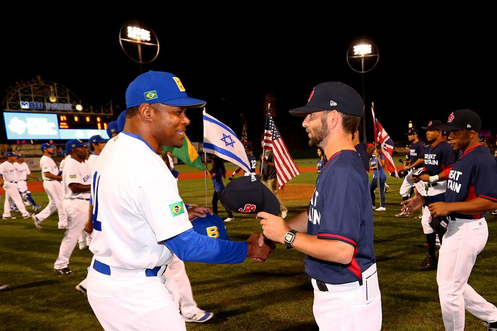 Great Britain vs. Brazil at the World Baseball Classic Qualifier