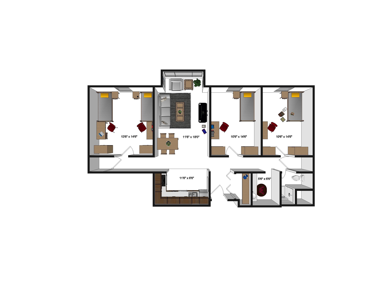 Dinnaken House - Apartments - 900 Washington Ave SE ...