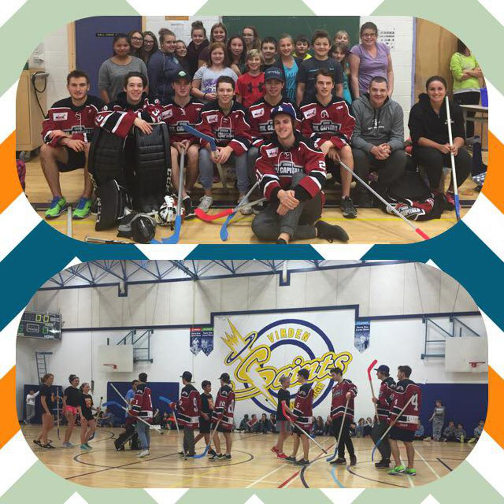 World of Floor Hockey at the Junior Hockey School