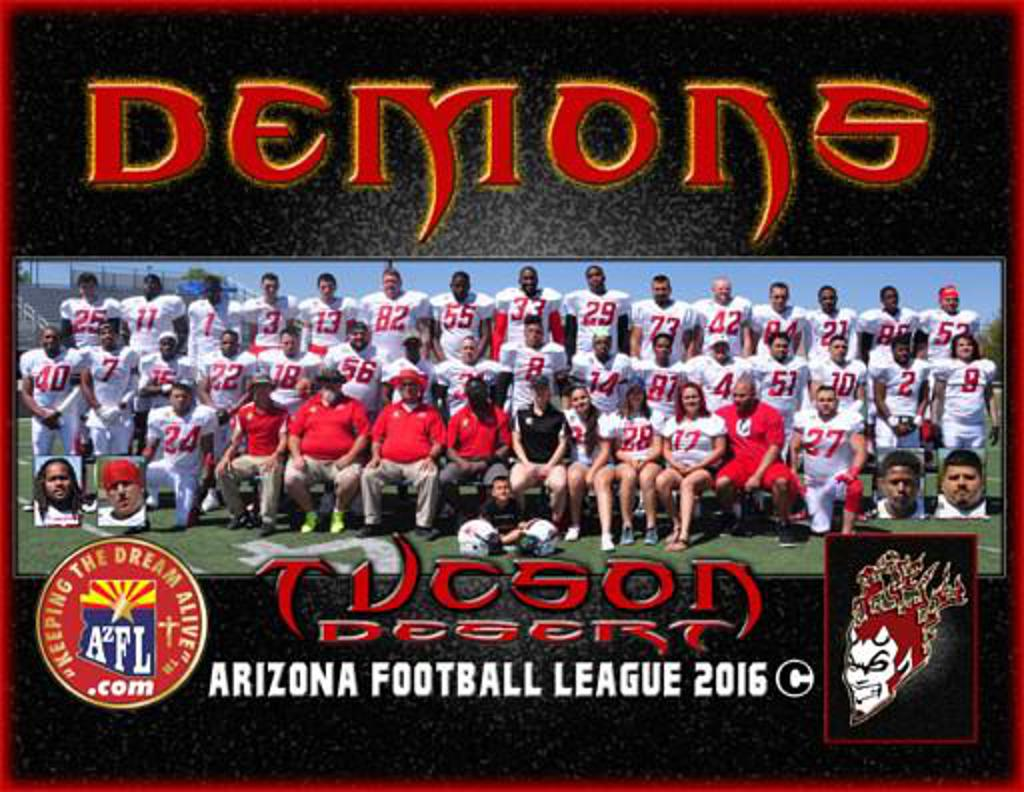 2016 AzFL State Champs Tucson Demons