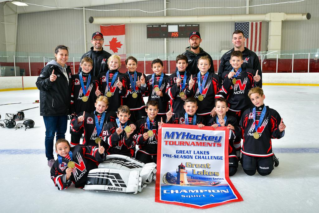 Great Lakes Pre-Season Challenge Squirt A Champions