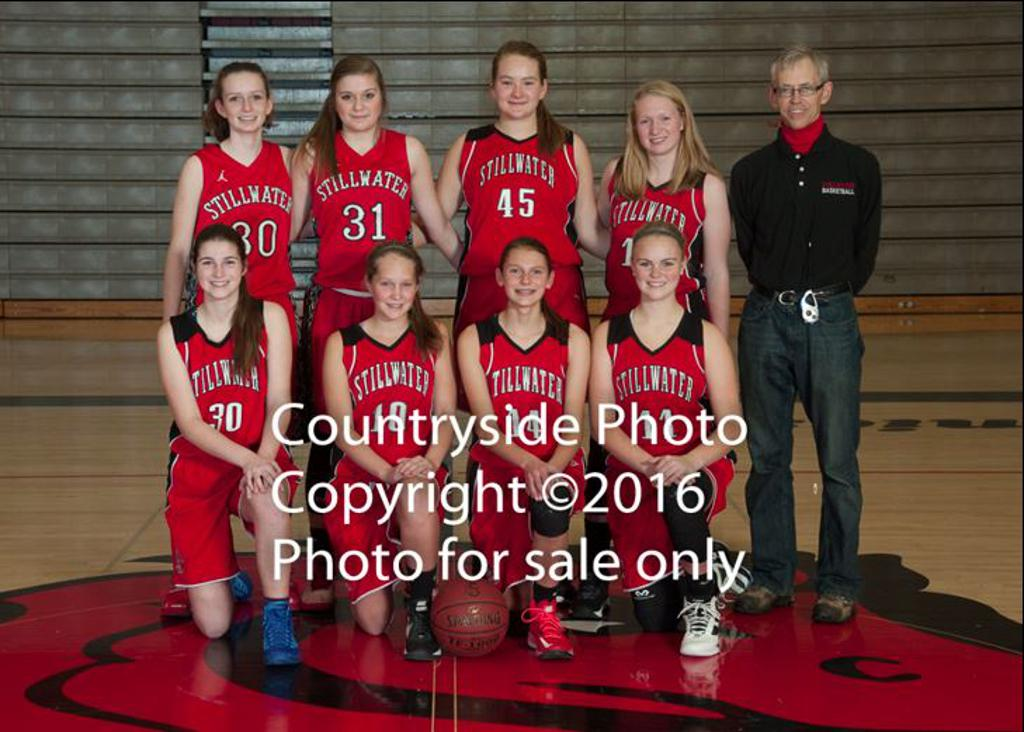 2016-17 - Stillwater Girls B-Squad Basketball Team