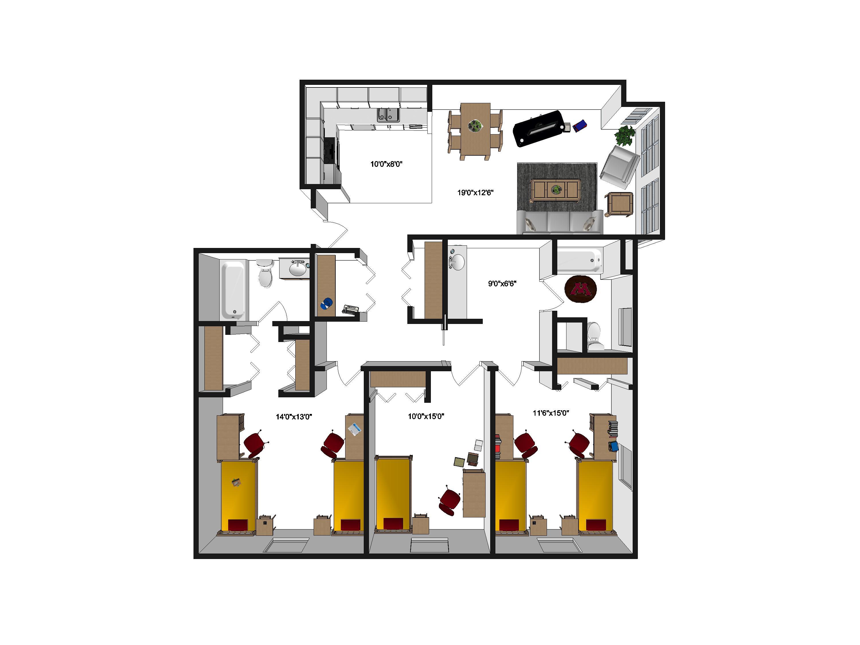 Argyle House Floor Plans