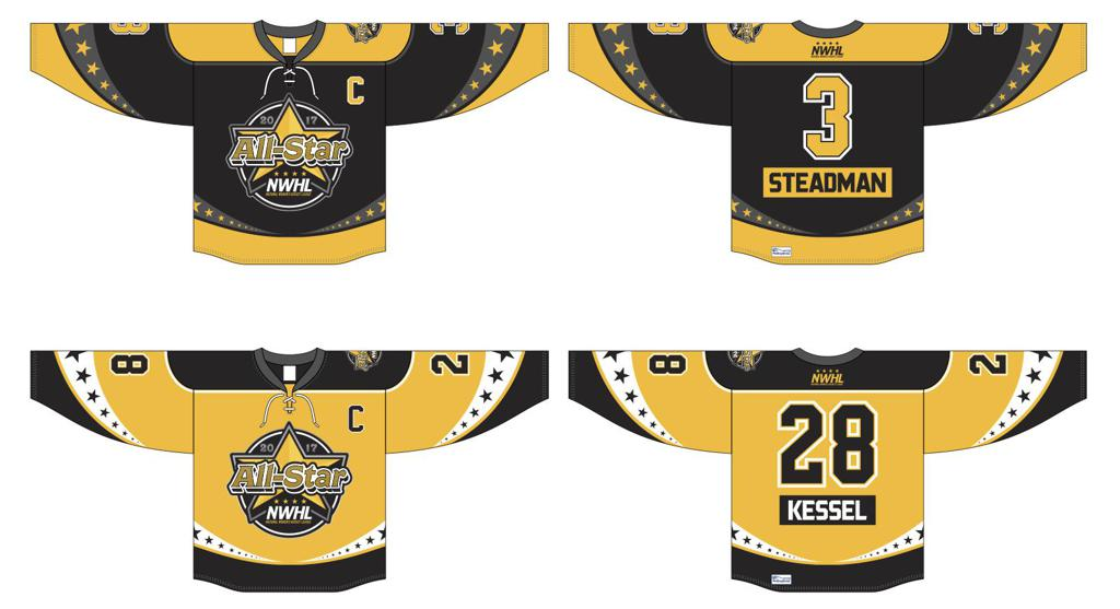 2017 NWHL All-Star Jerseys Unveiled! dafef3eae53