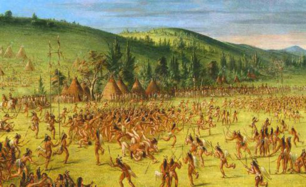 a look at the game of lacrosse played by the american indians The game of lacrosse was first played by native american indians and is still growing in popularity answer true false.