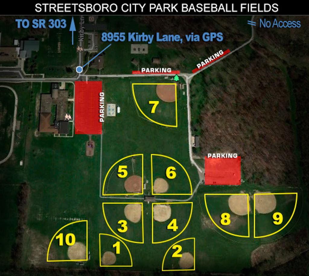 Streetsboro Baseball and Softball Fields