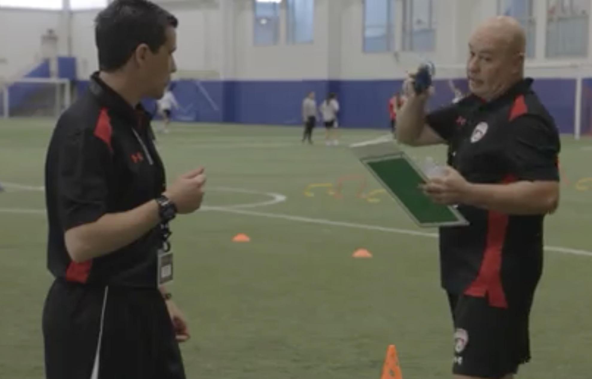 Ricardo Isgro and Ruben Miranda instructor at International Coaches Seminar
