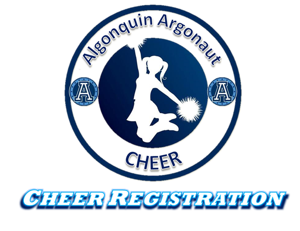 2017 Algonquin Argonauts Cheer Registration