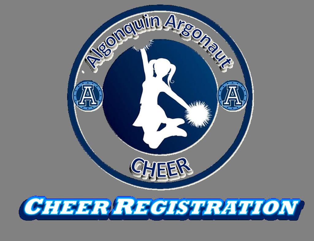 2018 Algonquin Argonauts Cheer Registration