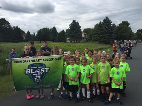 North Oaks Soccer Junior Blast