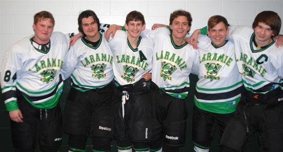 Seniors: Kian, Zach, Pierce, Chris, Nathan & Tony