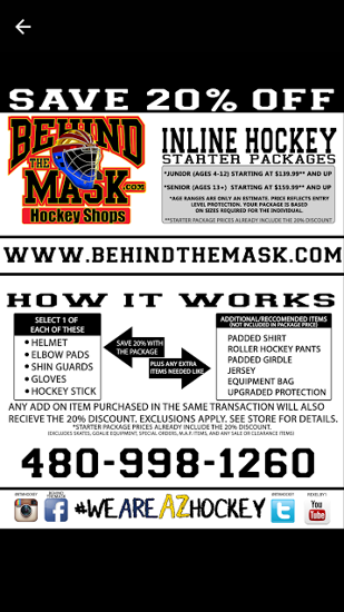 Inline Hockey Gear Available for Sale
