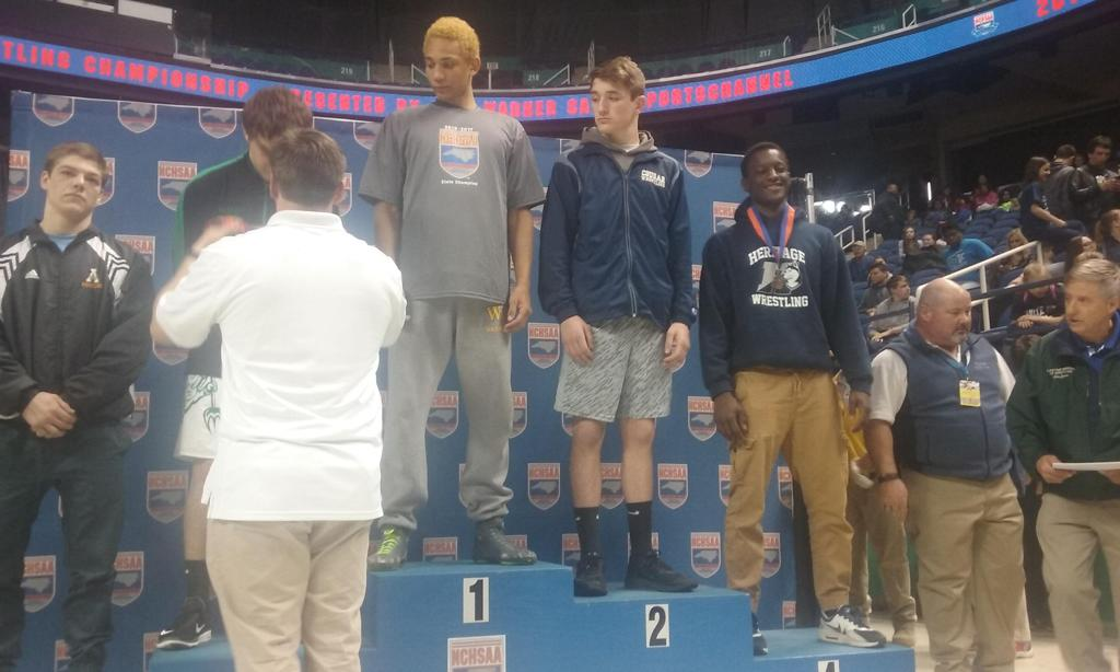 Congrates to Sheriff Njie, 4th Place at States