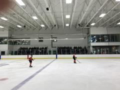 Moose game with wayzata varsity and jv teams watching 2 2 17 small
