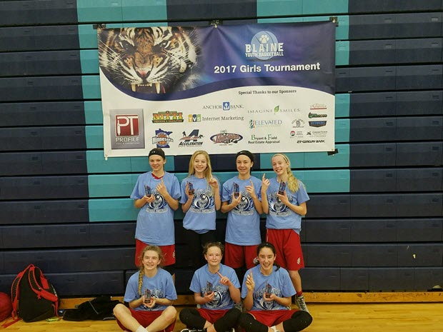 7th Grade Girls A Centennial 1st Place