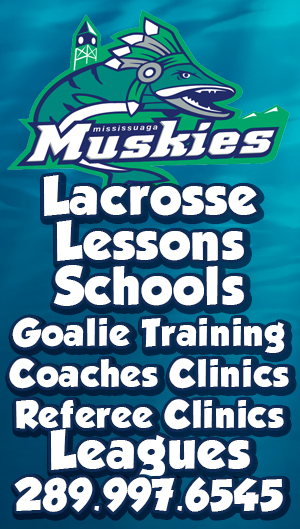Lacrosse Lessons in Mississauga and Oakville Rock Training Centre - Mississauga Hockey League in Conjunction with Edge Lacrosse and Hardcore Lacrosse - Mississauga News and Mississauga Newspaper - Insauga.com and Khaled iwamura with Kevin J. Johnston