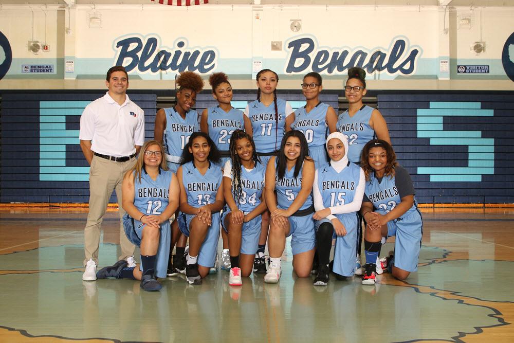 blaine girls b squad