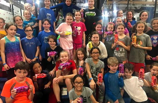 Junior Ninja Warriors and KRā Drinks for Athletes
