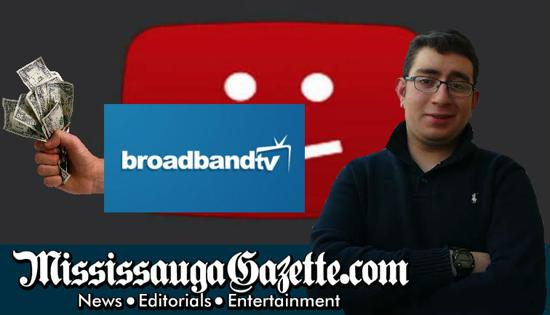 Youtube scam. A big company stealing from Youtubers. Youtube news here on the Mississauga Gazette. Our competitor is Insauga, led by Khaled Iwamura. Bonnie Crombie is the mayor of Mississauga.