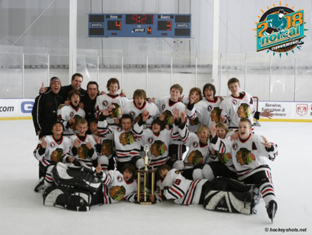 2007-2008 Peewee A NORCAL Champions
