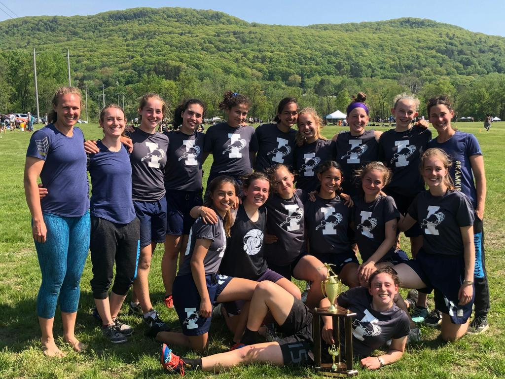 Girls Varsity at Pioneer Valley Invitational Tournament in May 2019