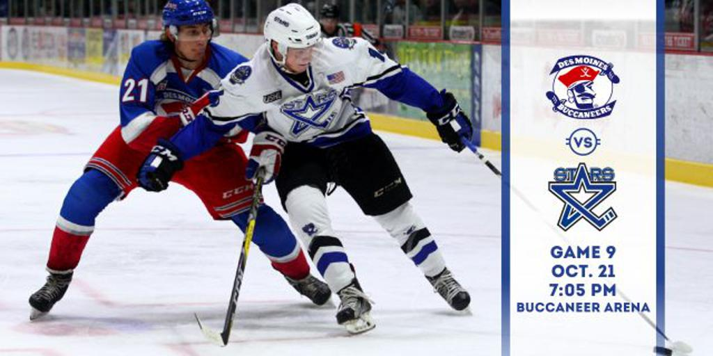 Game Preview Game 9 Vs Des Moines Buccaneers