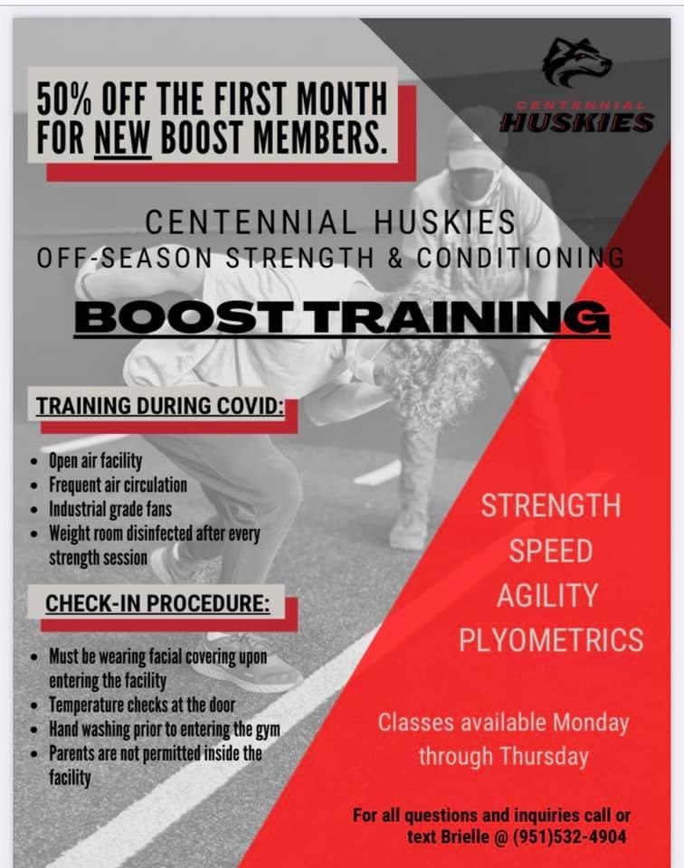Boost Off-Season Training