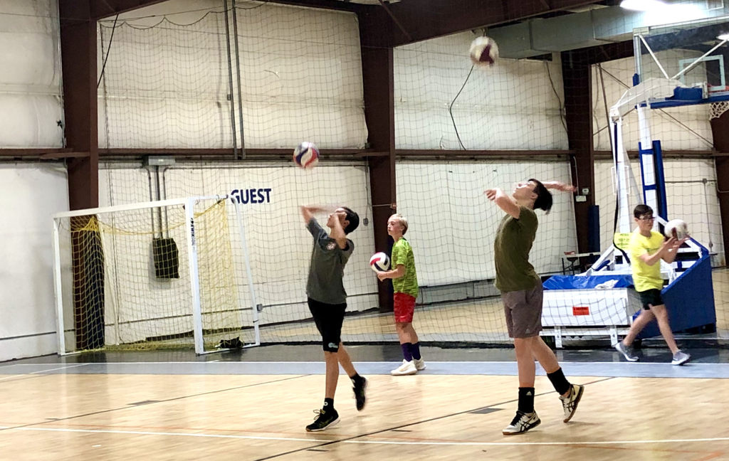 Boys Open Gym Serving