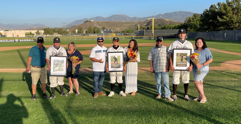 GVHS Baseball Seniors 2021